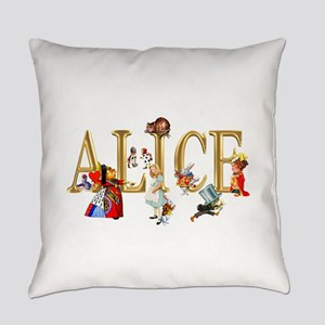 Alice and Friends in Wonderland, i Everyday Pillow