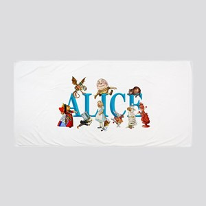 Alice and Friends in Wonderland, inclu Beach Towel