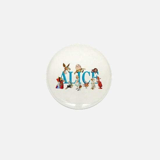 Alice and Friends in Wonderland, inclu Mini Button