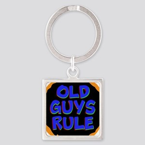 Old Guys Rule Keychains