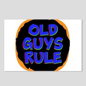 Old Guys Rule Postcards (Package of 8)