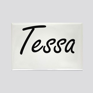 Tessa artistic Name Design Magnets