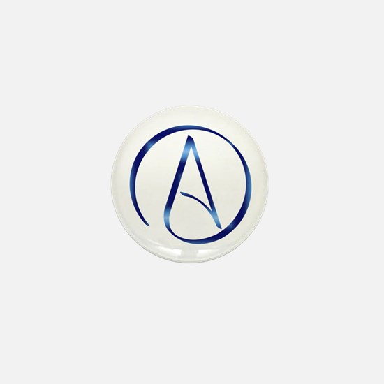 Atheism Symbol Mini Button