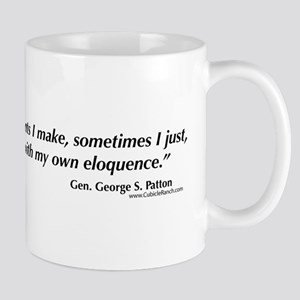 George S. Patton comments Mug