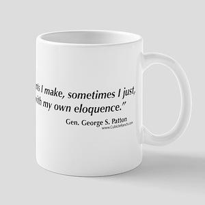 George S. Patton comments Mug