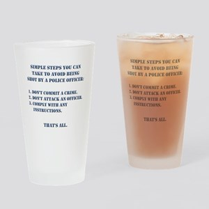 Simple Steps Drinking Glass
