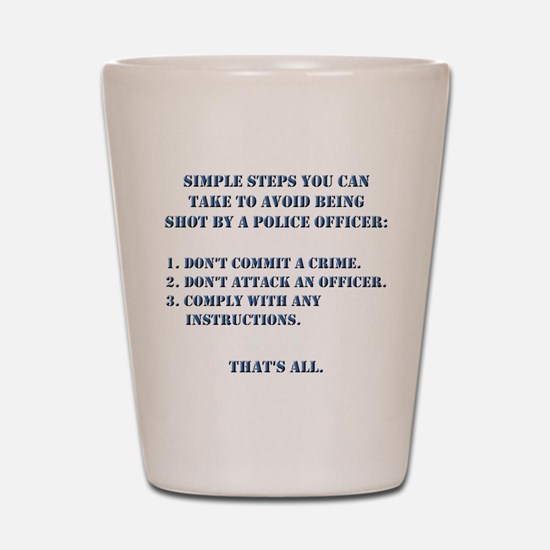 Simple Steps Shot Glass