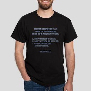 Simple Steps Dark T-Shirt