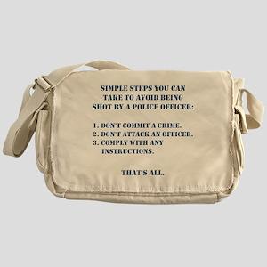 Simple Steps Messenger Bag