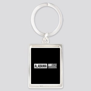 U.S. Flag: Alabama Portrait Keychain
