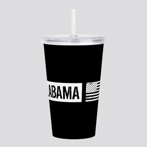 U.S. Flag: Alabama Acrylic Double-wall Tumbler