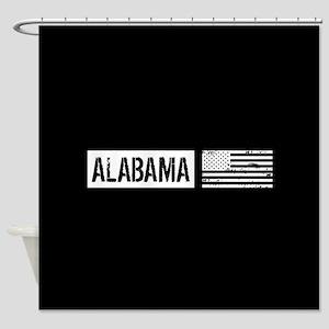 U.S. Flag: Alabama Shower Curtain