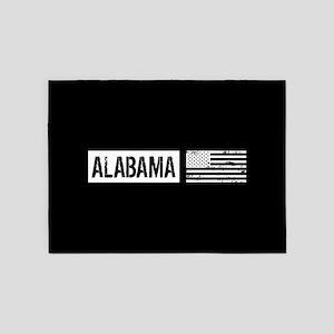 U.S. Flag: Alabama 5'x7'Area Rug