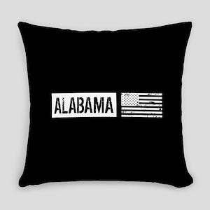 U.S. Flag: Alabama Everyday Pillow