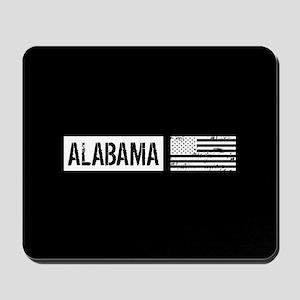 U.S. Flag: Alabama Mousepad