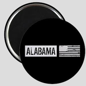 U.S. Flag: Alabama Magnet