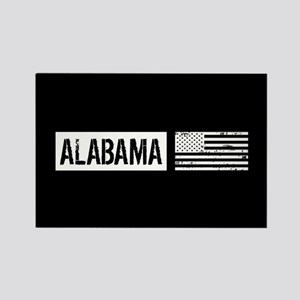 U.S. Flag: Alabama Rectangle Magnet