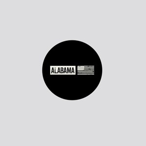 U.S. Flag: Alabama Mini Button
