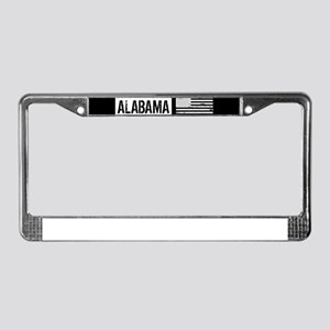 U.S. Flag: Alabama License Plate Frame