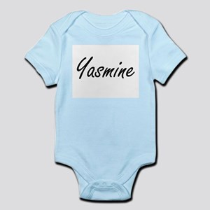 Yasmine artistic Name Design Body Suit