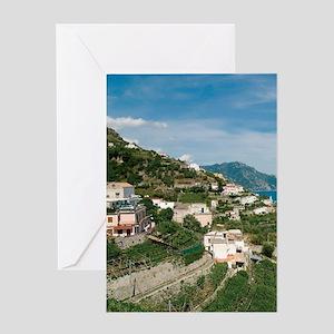 Itally - Amalfi Coastline  Greeting Card