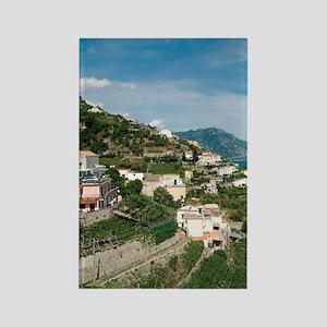 Itally - Amalfi Coastline  Rectangle Magnet