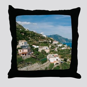 Itally - Amalfi Coastline  Throw Pillow