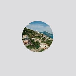 Itally - Amalfi Coastline  Mini Button
