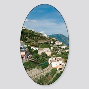 Itally - Amalfi Coastline  Sticker (Oval)