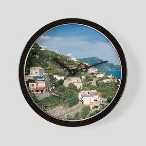 Itally - Amalfi Coastline  Wall Clock