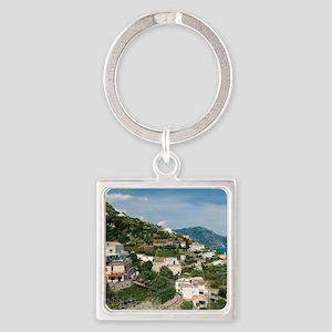 Itally - Amalfi Coastline  Square Keychain