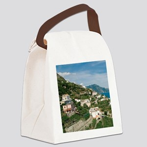 Itally - Amalfi Coastline  Canvas Lunch Bag
