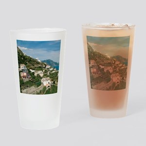 Itally - Amalfi Coastline  Drinking Glass