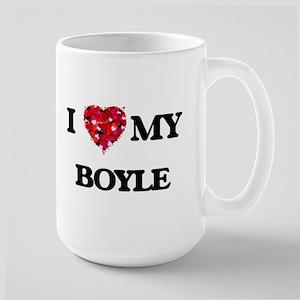 I Love MY Boyle Mugs