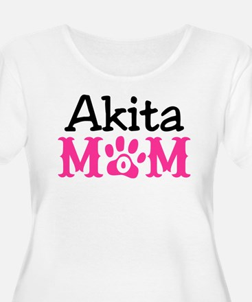 Akita Mom Plus Size T-Shirt