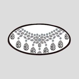 Big Diamond Necklace Patch