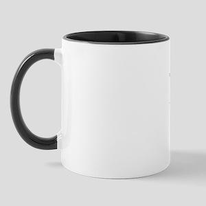 Mug W/ Longhair Dachshund With Xmas Lights Mugs