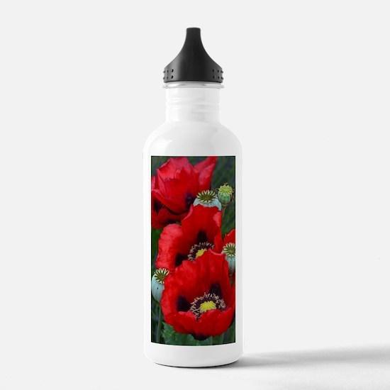 Unique Floral botanical Water Bottle