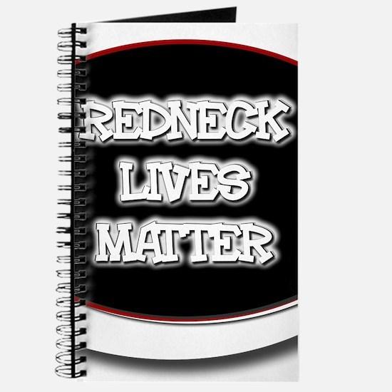 Black and White Rednecks Lives Matter Journal