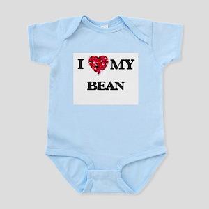 I Love MY Bean Body Suit