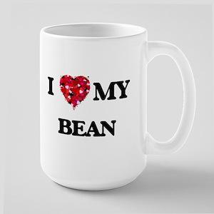 I Love MY Bean Mugs