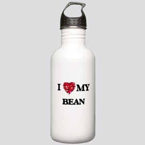 I Love MY Bean Stainless Water Bottle 1.0L