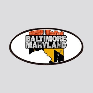 Baltimore Maryland Skyline State Patch