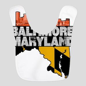 Baltimore Maryland Skyline State Bib