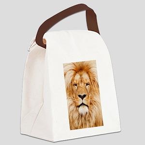Lion Canvas Lunch Bag