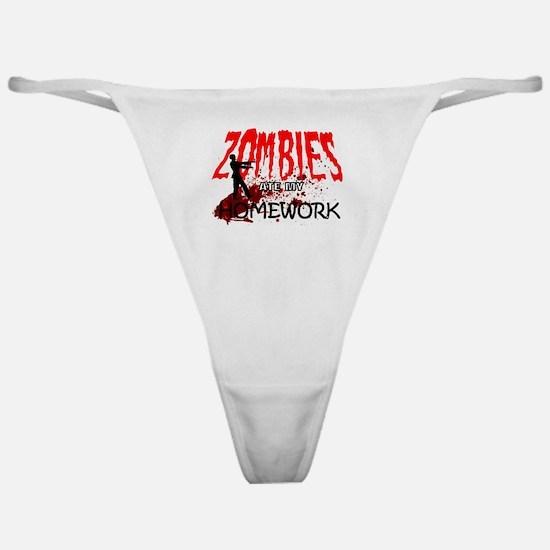 Zombie Merchandise Classic Thong