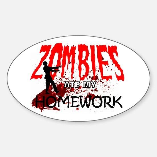 Zombie Merchandise Decal