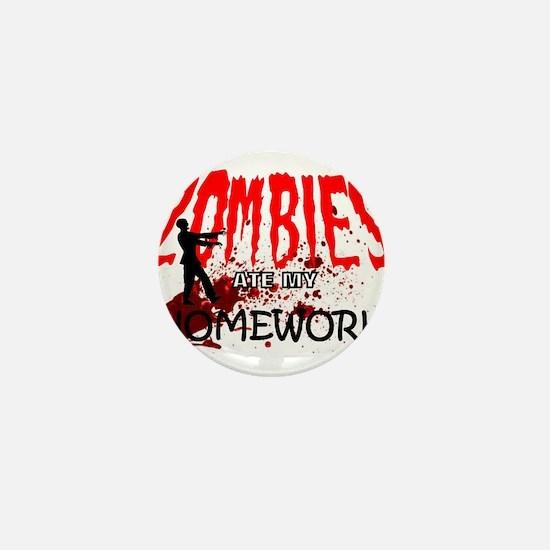 Zombie Merchandise Mini Button