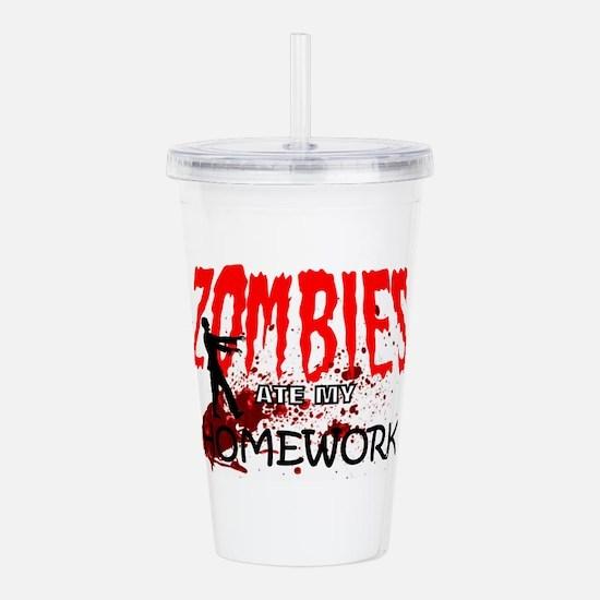 Zombie Merchandise Acrylic Double-wall Tumbler