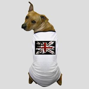 British Flag Union Jack Dog T-Shirt